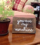 Pallet Sign- you are my sunshine