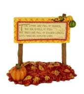 Mini Autumn Wish Sign