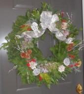 Event Fee:  Create a Perfect Fresh Winter Wreath, Tues., Nov. 29th 1pm