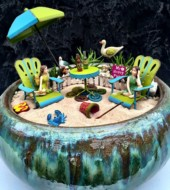 Event Fee:  Fairy Garden Workshop at PP in the Village, Sat., July 8th, 10-11am